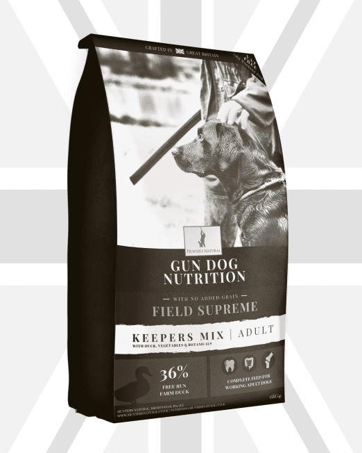 Field Supreme Keepers Mix Adult Working Dog Food For Gun Dogs, Agility Dogs and Working Dogs - Hunters Natural