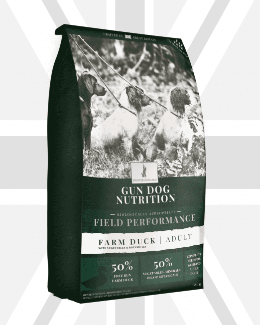 Hunters Natural Field Performance Duck Adult Working Dog Grain Free Biologically Appropriate Complete Dry Feed For Dogs - Main Image